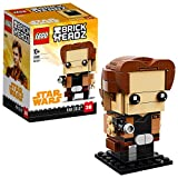 LEGO Brickheadz- Han Solo, Star Wars, Multicolore, 41608