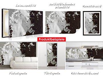 Selbstklebendes-cuadro de Buda Estatua-Fáciles de pegar-Wall Print, Wall Paper, Póster, pantalla con pegamento de puntos de vinilo para paredes, puertas, muebles y superficies lisas de Trend paredes 6