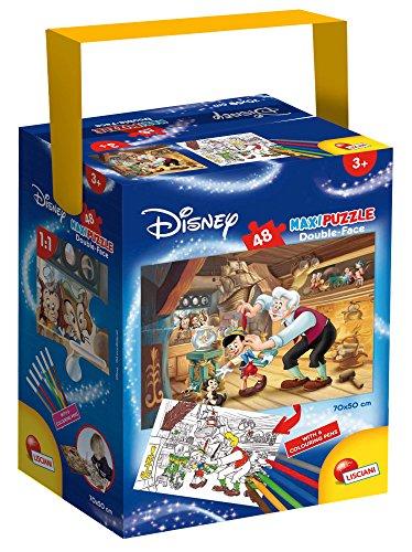 Lisciani Giochi 60030 - Puzzle in a Tub Maxi 48 Pinocchio