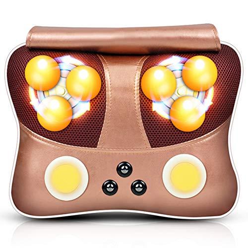 YSDNI Cuscino Massaggiatore Massaggio del Collo Schiena con Calore E 3D Shiatsu Funzione...