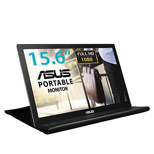 Asus MB169B+ - Ecran PC Portable 15,6' FHD - Alimentation et Affichage via USB Type-A - Dalle IPS - 1920 x 1080 - PS4 Raspberry Pi Xbox - 200cd/m²