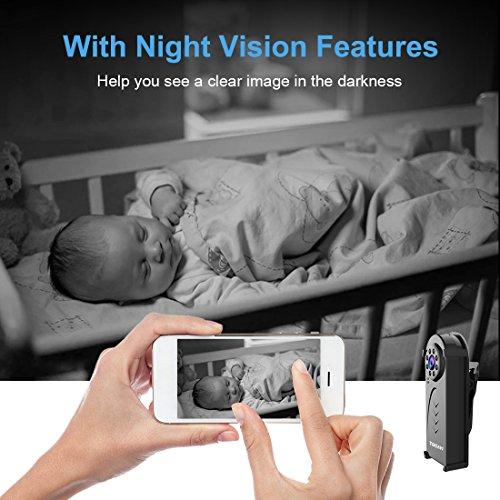Caméra Espion Cachée AOBO Mini WiFi Cam HD 1080P Vision Nocturne avec Détection de Mouvement Caméra de Surveillance de Sécurité, Enregistreu... 7