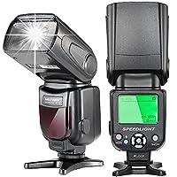 N.B. la fotocamera NON è inclusa!    Descrizione: L'e-TTL flash speedlite è adatto alle reflex digitali canon, tra cui 7D Mark II, 5D Mark II III IV, 1300D, 1200D, 750D, 700D, 600D, 80D, 70D, 60D e così via.    Specifica: Progettazione di circuiti...
