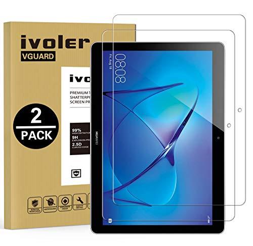 iVoler [2 Pack] Pellicola Vetro Temperato per Huawei Mediapad T3 10, Pellicola Protettiva,...