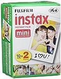 Fujifilm Instax Mini Lot de 5 paquets de 20 filmspour Instax Mini 8, Mini 90