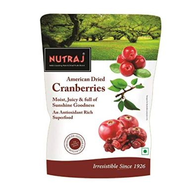 Nutraj Sweet & Tart Sliced Cranberry 180g 12