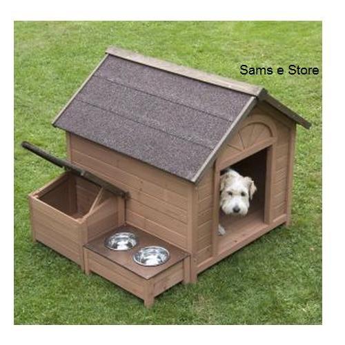Sylvan Comfort FSC, misura grande, motivo: cucciolo di cane con cuccia cane House Pet House &...