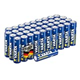 Varta Confezione Industrial 40 Batterie Alcaline, Tipo AA, Stilo AA LR6