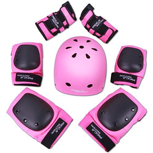 RCB Set di accessori di protezione regolabili per bici, hoverboard, skateboard, scooter elettrico e...