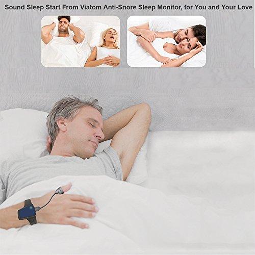 Lunasea sans fil apnée du sommeil Obstructives Aid tracker moniteur de fréquence cardiaque et SPO2Oxymètre de pouls Alarme 11