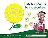 Nuevo jardín de las letras. Iniciación a las vocales. Educación Infantil: Lectoescritura Pauta (Educación Infantil Algaida. Lectoescritura) - 9788490677285