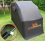 StormProtector® Garage per Moto /Coprimoto Impermeabile con Struttura in Acciaio Bonificato per Scooter Motociclo/ Motocicletta
