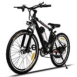 Profun Vélo de Montagne électrique 27.5/26 Pouces 350W/250W avec Shimano...