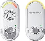 Motorola MBP 8 - Vigilabebés audio plug-n-go con modo eco y luz nocturna, color...