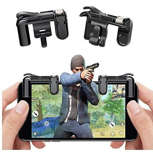 PUBG Gaming Joystick for Mobile || Trigger for Mobile Controller || Fire Button Assist Tool Smartphone L1R1 Trigger for Android/iOS