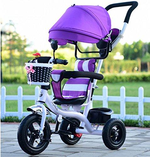 WF-BIKE Bici per Neonati Triciclo per Bambini, Maschio e Femmina, per Bimbo / 1-2-3-6 Anni,...