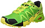 Salomon Speedcross Vario 2, Zapatillas de Trail Running para Hombre, Verde (Lime Classic Green/Black), 43.1/3 EU