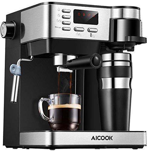 Macchina caffe Aicook, Macchina per Caffe 3 in 1(Macchina Caffe Americano Macchina Caffe Espresso da...