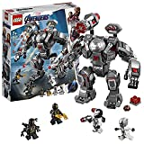 LEGO Marvel Super HeroesTM L'armure de War Machine Jeu de construction, 7 Ans et Plus, 362 Pièces  76124