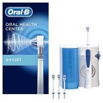 Oral-B Reinigungssystem - OxyJet Munddusche, mit vier OxyJet Aufsteckteilen