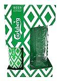 Carlsberg Pint Glass and Bottle Gift Box Set (330 Millilitre Bottle and Branded Pint Glass)