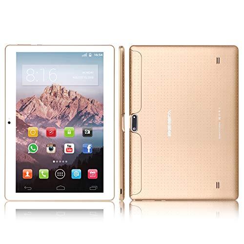 10 pollici (10.1) Tablet BEISTA con Funzione Telefono (Android 7.0,Processore Quad Core,Capacità 16...