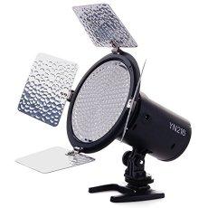 Yongnuo YN216 PRO -Lámpara para vídeo LED (55º, 2280 lm, 5500 K), color negro