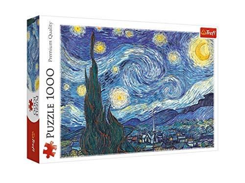 Trefl - Puzzle da 1000 Pezzi, Motivo: Notte Stellata