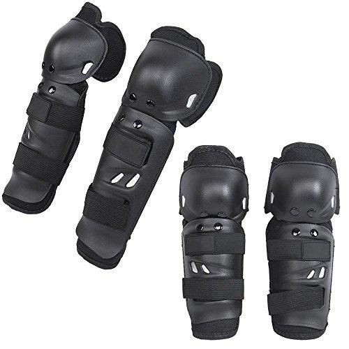 KT SUPPLY codera rodillera adulto Kit de protección para rodillas y codos Protège equipo profesional hombre mujer para moto Cross bicicleta montaña