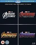 Avengers 1-4 Complete Boxset [Blu-ray] [2019] [Region Free]