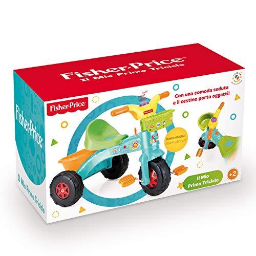 Grandi Giochi Fisher Price Primo Triciclo, GG01813, Multicolore