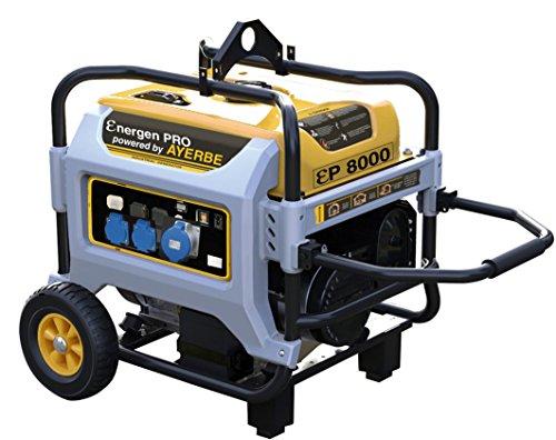 Ayerbe ENER-GEN PRO 8000 A/E Generador, 6500W