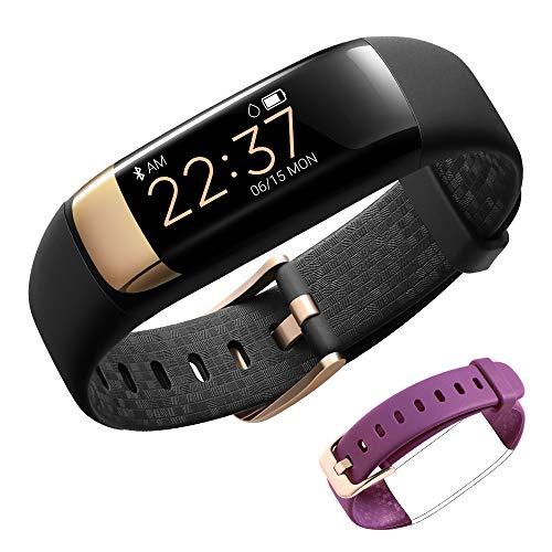 siroflo Fitness Tracker, Montre Connectée Tracker d'Activité IP67 étanche, Smartwatch Bracelet Bluetooth Podomètre avec Moniteur de Sommeil/... 22