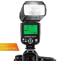 ESDDI PLF 350 è adatto per la maggior parte delle fotocamere a contatto caldo a contatto singolo Caratteristiche:Sistema di tempi di riciclaggio ultrarapidoRiflettore incorporatoDiffusore Hard FlashModalità di risparmio energetico (funzione di attesa...