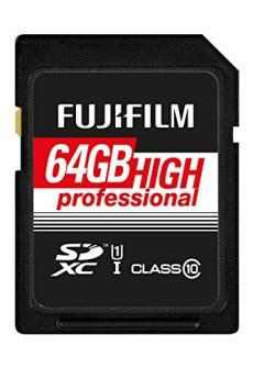 FUJIFILM 4005321 FUJIFILM 64GB SDXC TARJETA UHS-I HIGH PROFESIONAL CLASE 10 UHS-I