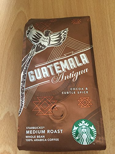 Starbucks Single Origin coffee beans (a chocolate notes, lemon, soft spice coffee with aromas of dried fruit and chocolate, dried fruit and citrus fruit, spices and tobacco)
