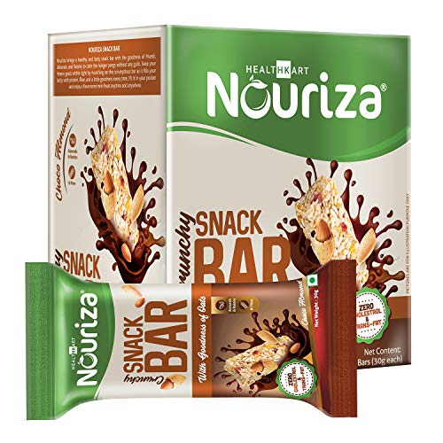 Nouriza Snack Bar, 10 Piece(s)/ Pack (Choco Almond)