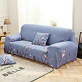 DW&HX Funda de sofá elástica,Todo-en-uno Four Seasons Alfombra de Toalla sofá Antideslizante Funda de sofá de Cuero Vintage-M 2 plazas