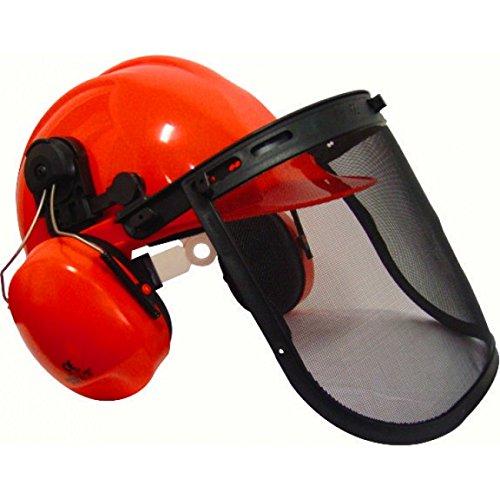 RocwooD–Casco de protección para motosierra (para uso con Husqvarna motosierras