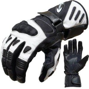 PROANTI Motorradhandschuhe Summer Motorrad Handschuhe (Gr. M - XXL, Weiß) 4