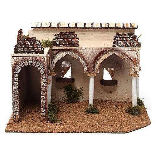 Holyart Palazzo con Portico Arabo 28x17xh.19 cm