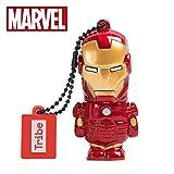 Llave USB 32 GB Iron Man - Memoria Flash Drive 2.0 Original Marvel Avengers, Tribe FD016704
