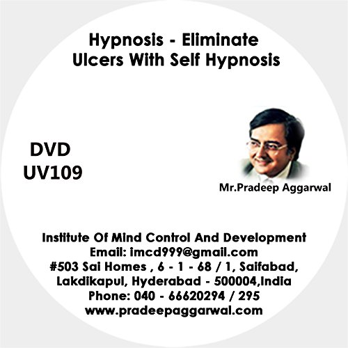 Hypnosis - Eliminate Ulcers With Self Hypnosis, DVD