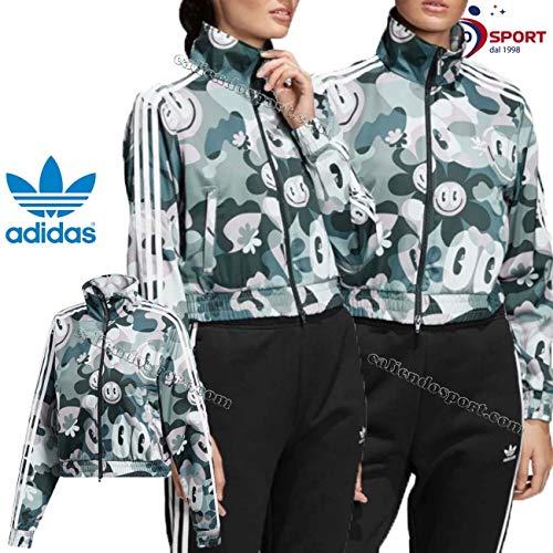 Veste de survêtement Crop Femme Adidas BB Hattie