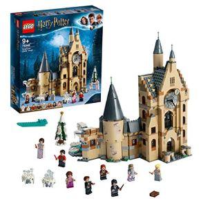 LEGO Harry Potter - Torre del Reloj de Hogwarts, Set de Construcción Compatible con los Sets del Sauce Boxeador y el Gran Comedor (75948)