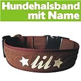 Special-Petshop Hundehalsband mit Name (40-44cm)