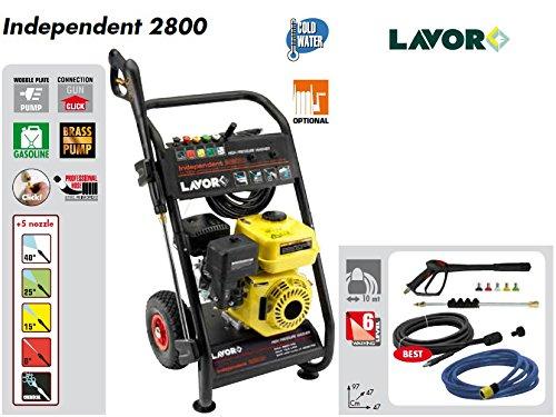 LAVOR IDROPULITRICE INDEPENDENT 2800-200 bar max - 690 l/h max - motore a scoppio 4 tempi 6.5 HP