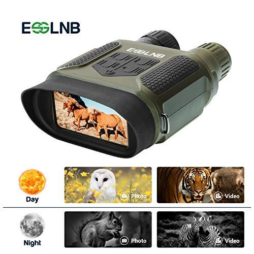 ESSLNB Visore Notturno Digitale Binoculare 7x31 Visore Notturno Caccia con 2' TFT LCD e 8GB TF Carta Foto Telecamera Video Registratore