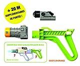 Lazer M.A.D. - Kit Accessoires Lazer M.A.D avec 1 Silencieux 1 Crosse + Assortiment 2 Couleurs