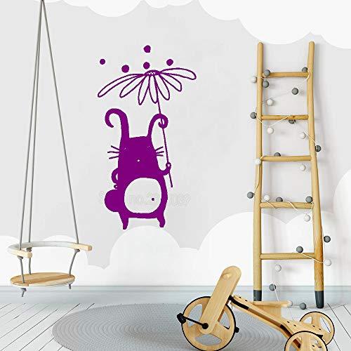jiushizq Simpatico Personaggio Decalcomania per Bambini Nursery Wall Decalcomanie in Vinile Design...